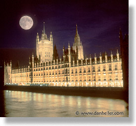 cities, england, english, europe, full moon, london, parliament, square format, united kingdom, photograph
