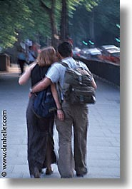 cities, couples, england, english, europe, london, people, sidewalks, united kingdom, vertical, photograph