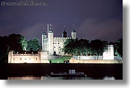 cities, england, english, europe, horizontal, london, nite, royalty, tower of london, towers, united kingdom, photograph