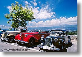 antiques, cannes, cars, europe, france, horizontal, photograph