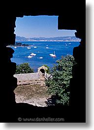 cannes, europe, france, peephole, vertical, photograph
