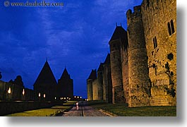 carcassonne, castles, europe, france, grounds, horizontal, jousting, lower, photograph