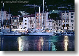 bonifacio, corsica, europe, france, horizontal, nite, photograph