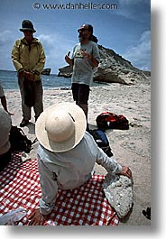 corsica, elaines, europe, france, hats, vertical, wt people, photograph