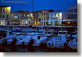 boats, europe, france, harbor, horizontal, ile de re, nite, water, photograph