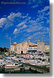 boats, europe, france, harbor, ile de re, vertical, photograph