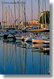 boats, europe, france, harbor, ile de re, vertical, water, photograph