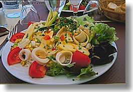 europe, foods, france, horizontal, ile de re, salad, photograph