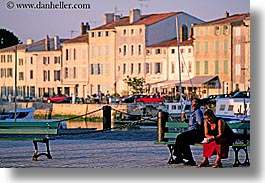 europe, france, horizontal, ile de re, tourists, photograph