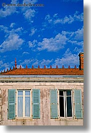 europe, france, ile de re, sky, vertical, windows, photograph