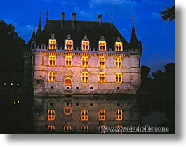 buildings, castles, europe, france, horizontal, loire valley, photograph