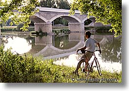 bikers, europe, france, horizontal, loire valley, photograph