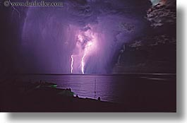 europe, france, horizontal, lightning, mediterranean sea, nice, nite, storm, photograph
