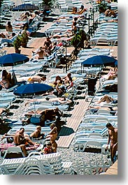 europe, france, nice, sunbathers, vertical, photograph