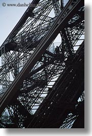 buildings, closeup, eiffel tower, europe, france, paris, steel, structures, towers, vertical, photograph