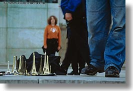 buildings, eiffel tower, europe, france, horizontal, miniature, models, paris, structures, towers, photograph