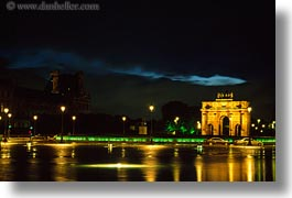arc, carrousel, europe, france, horizontal, louvre, nite, paris, photograph