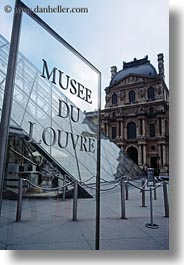 europe, france, louvre, paris, signs, vertical, photograph