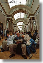 arts, europe, france, louvre, paris, people, vertical, photograph