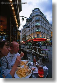 cafes, eating, europe, france, outdoors, paris, people, vertical, photograph