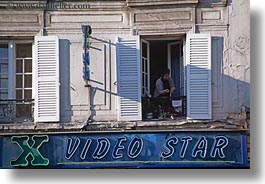 europe, france, horizontal, paris, people, signs, stars, video, womens, photograph