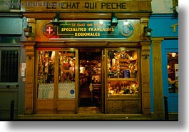 cafes, europe, france, horizontal, nite, paris, saint germaine, small, photograph
