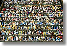 aix en provence, arts, ceramics, colorful, colors, europe, figurines, france, horizontal, provence, photograph