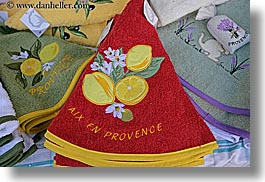 aix en provence, cloths, colors, europe, fabrics, france, horizontal, provence, red, photograph