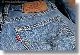 aix en provence, blues, colors, europe, fabrics, france, horizontal, jeans, levis, logo, provence, tags, photograph