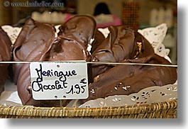 aix en provence, browns, chocolate, colors, desserts, europe, foods, france, horizontal, meringue, provence, photograph