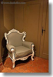 aix en provence, antiques, chairs, europe, france, provence, vertical, photograph