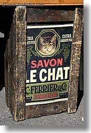 aix en provence, boxes, europe, france, french, provence, signs, soaps, vertical, photograph