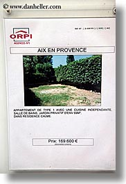 aix en provence, estates, europe, france, provence, real, signs, vertical, photograph