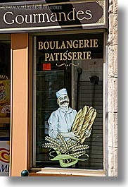 aix en provence, bread, europe, france, provence, shops, stores, vertical, photograph