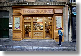 aix en provence, europe, france, horizontal, men, people, provence, stores, photograph
