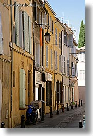 aix en provence, empty, europe, france, narrow, narrow streets, provence, streets, vertical, photograph