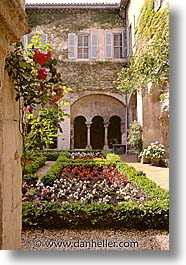 avignon, europe, france, gardens, provence, vertical, photograph
