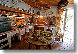 bargeme, dogs, europe, france, horizontal, kitchen, provence, rooms, photograph