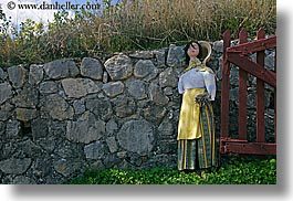 castellane, europe, france, horizontal, mannequins, materials, people, provence, stones, walls, womens, photograph