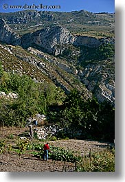 castellane, europe, farmers, france, mountains, provence, scenics, vertical, photograph