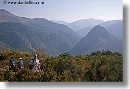 castellane, europe, france, hikers, horizontal, mountains, provence, scenics, photograph