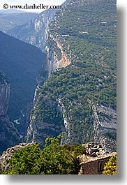 canyons, castellane, europe, france, people, provence, scenics, vertical, viewing, photograph