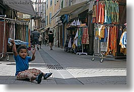 boys, castellane, childrens, europe, france, horizontal, people, provence, sitting, streets, toddlers, towns, photograph