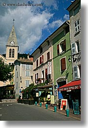 castellane, churches, colorful, colors, europe, france, provence, towns, vertical, photograph