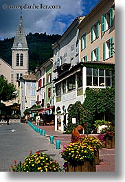 castellane, churches, europe, france, provence, towns, vertical, photograph