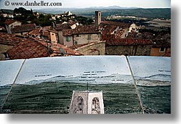 europe, fayence, france, horizontal, paintings, provence, towns, photograph