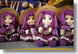 colors, dolls, europe, fayence, france, horizontal, provence, purple, photograph