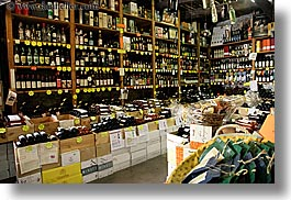 europe, fayence, foods, france, horizontal, provence, stores, wine bottle, wines, photograph