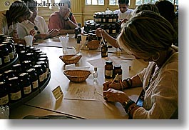 europe, france, grasse, groups, horizontal, mixing, molinard, people, perfumerie, perfumes, provence, womens, photograph
