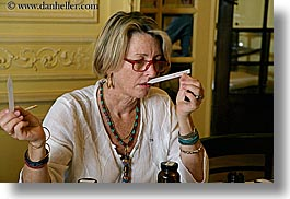 europe, france, grasse, horizontal, molinard, people, perfumerie, perfumes, provence, sniffing, womens, photograph
